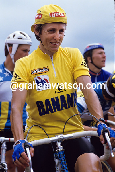 Maria Canins in the 1986 Tour de France Feminin