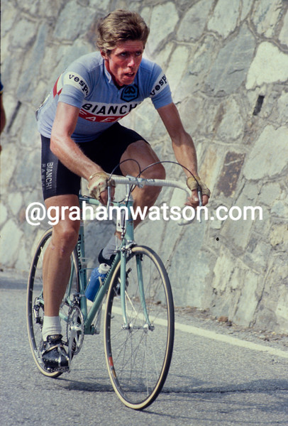 Knut Knudsen in the 1980 Tour de France