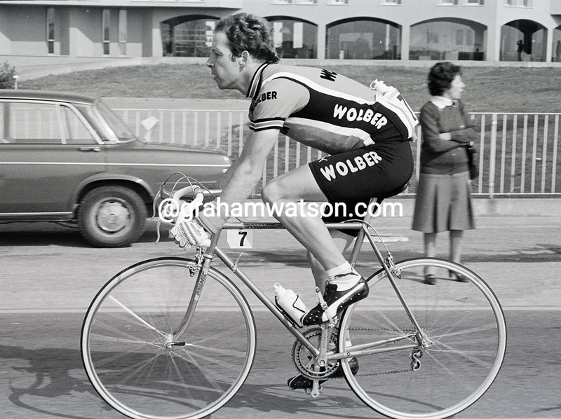 Gary Dowdell in the 1983 Milan-San Remo