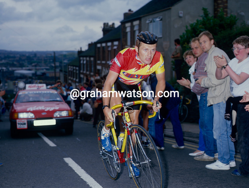 Neil Martin in the 1988 Kellogg's Tour of Britain