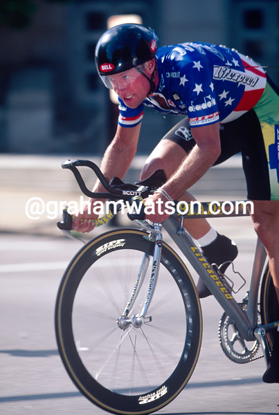 Steve Hegg in the 1996 Tour DuPont
