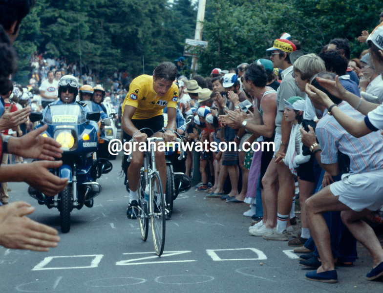 Joseph Bruyere on a stage of the 1978 Tour de France