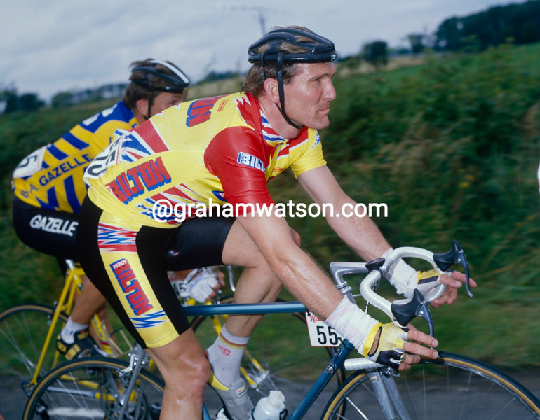 Bob Downs in the 1988 Kellogg's Tour of Britain