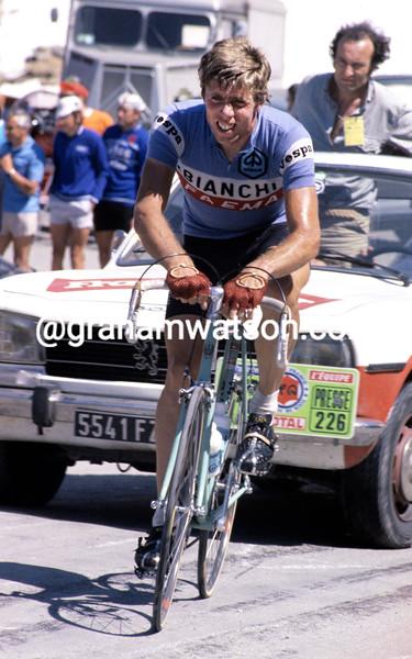 Knut Knudsen in the 1978 Tour de France