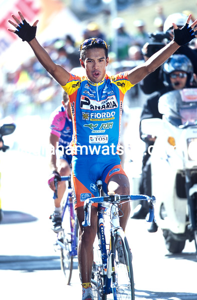 Julio Perez Cuapio in the 2003 Giro d'Italia