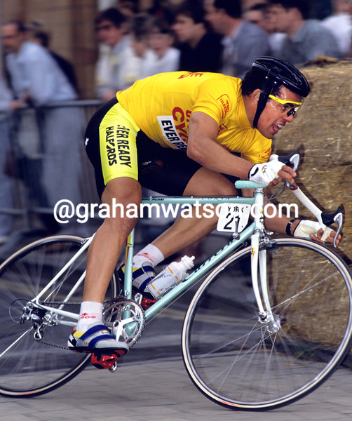 RUSSELL WILLIAMS IN THE KELLOGG'S CRITERIUM