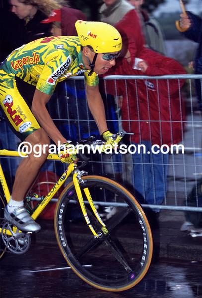 Daisuke Imanaka in the 1996 Tour de France Prologue