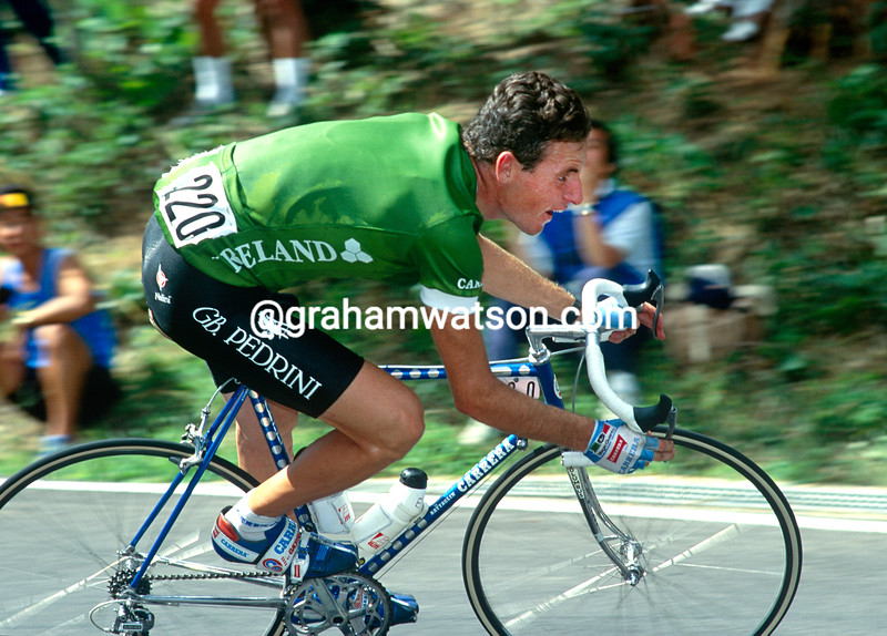 Lawrence Roche in the 1990 World Championships