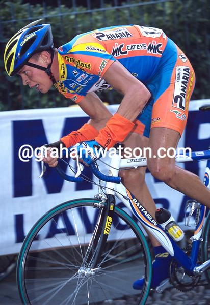 Niklas Axelsson in the 1996 Giro di Lombardia