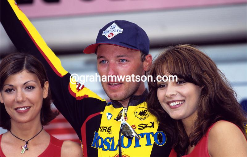 Alexandre Gonchenkov in the 1997 Giro d'Italia