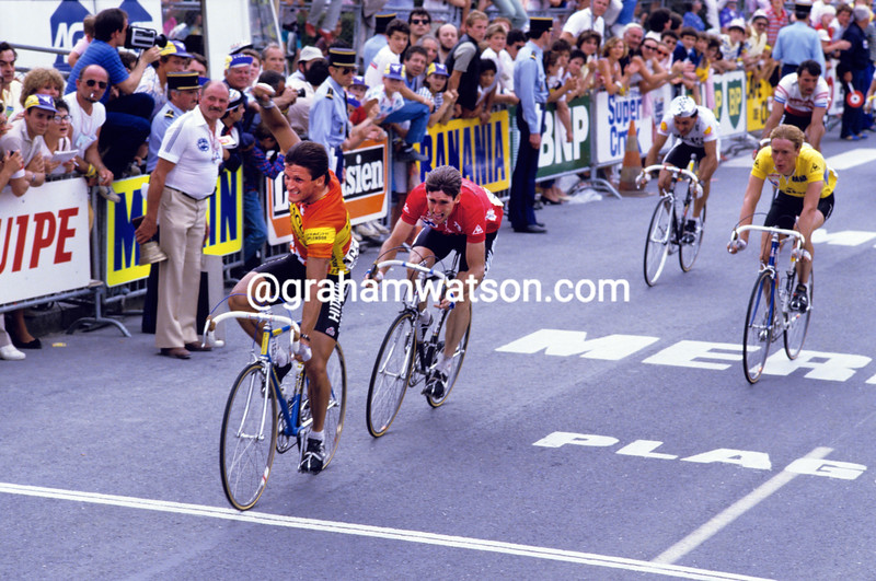 Rudy Matthijs wins a stage of the 1983 Tour de France