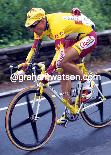 Laurie Aus in the 1998 Tour of Luxemburg