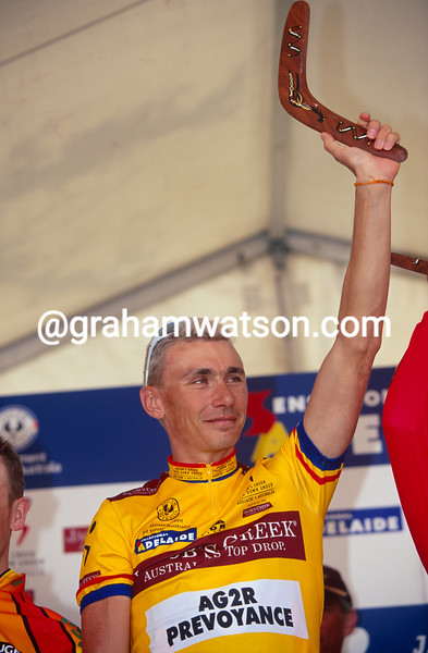 Gilles Magnian in the 2000 Tour Down Under