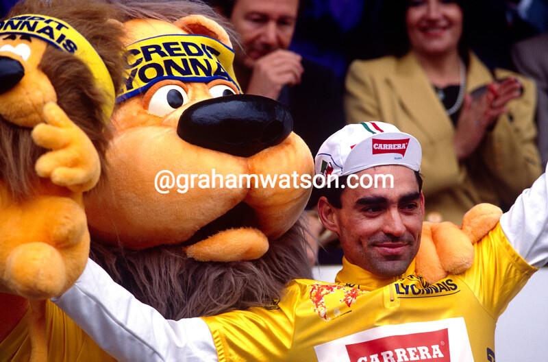Acacio Da Silva wins a stage of the 1987 Tour de France