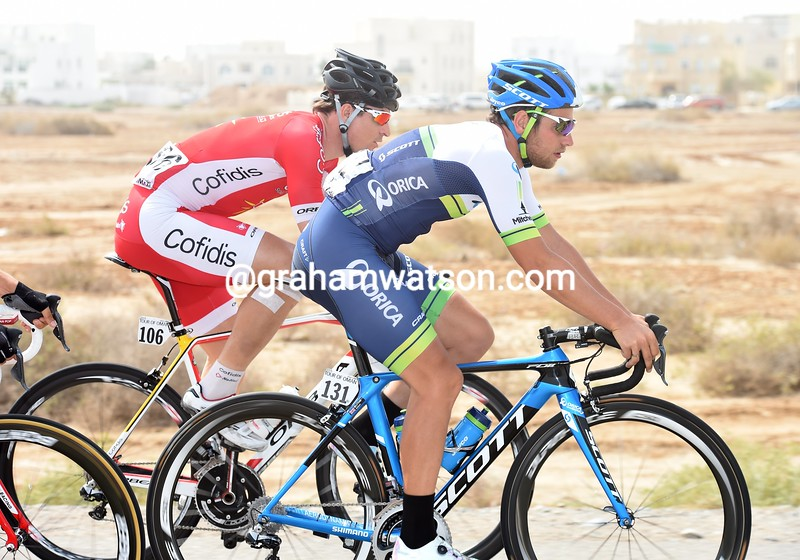 Adam Blythe on stage six of the 2015 Tour of Oman