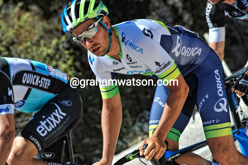Adam Blythe in action during Stage 5of the 2015 Tour of Turkey