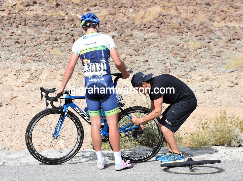 Adam Blythe on stage four of the 2015 Tour of Oman
