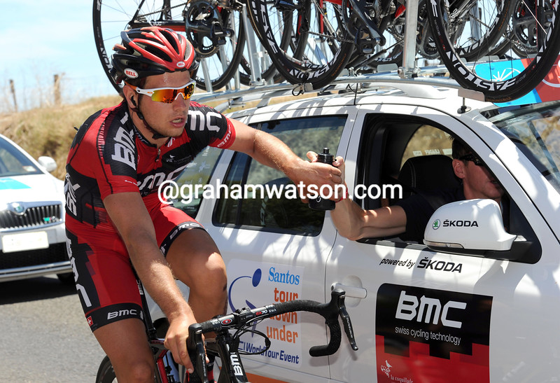 ADAM BLYTHE ON STAGE FIVE OF THE 2012 SANTOS TOUR DOWN UNDER