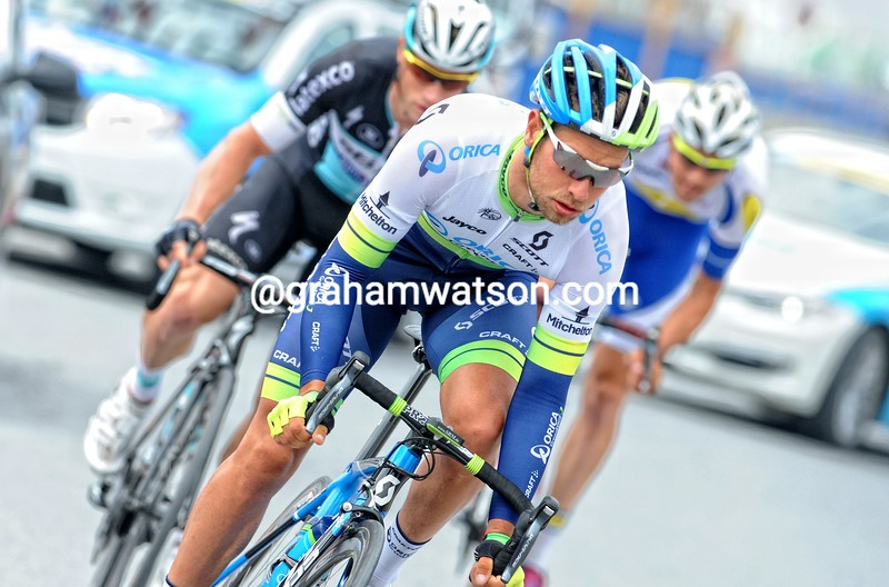 Adam Blythe in action during Stage 8 of the 2015 Tour of Turkey