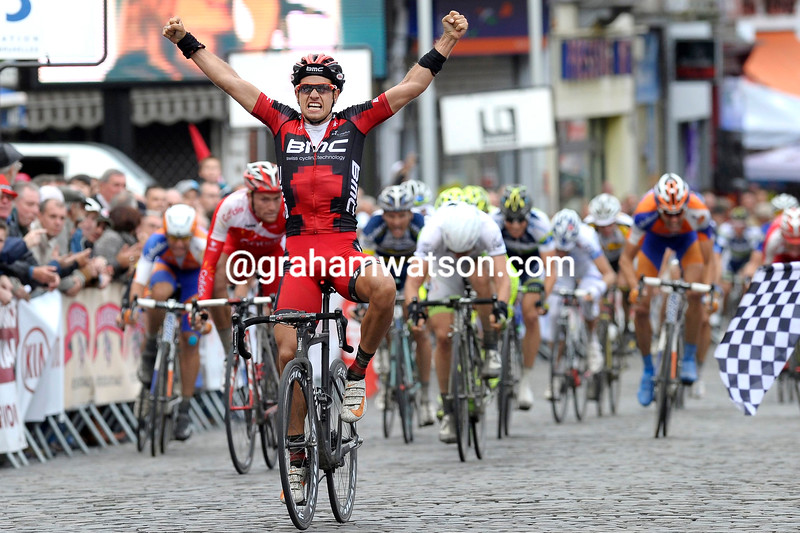 Adam Blythe wins the 2012 Binche-Tournai-Binche