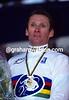 Adri Van der Poel wins the 1996 World Cyclo-Cross Title