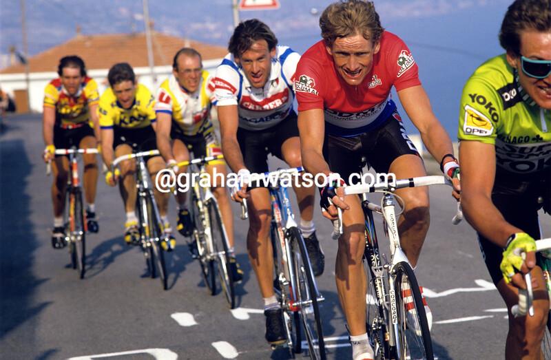 Adri Van der Poel in the 1988 Milan-San Remo