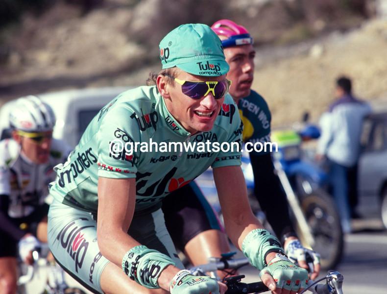 Adrie Van der Poel in the 1992 Paris-Nice