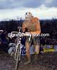 Adri Van der Poel in the 1988 World Cyclo-Cross Championships