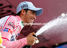 ALBERTO CONTADOR ON STAGE EIGHTEEN OF THE 2011 GIRO D'ITALIA