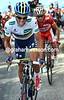 Alberto Contador on stage fifteen of the 2012 Vuelta EspaÒa