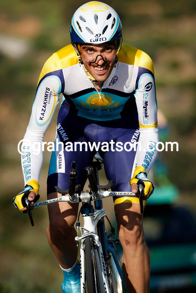 ALBERTO CONTADOR WINS THE TIME TRIAL IN THE VOLTA AO ALGARVE