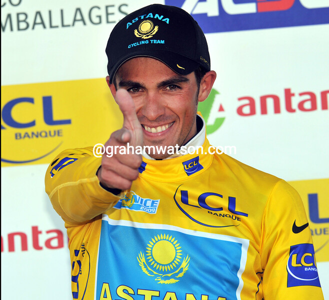ALBERTO CONTADOR WINS STAGE SIX OF THE 2009 PARIS-NICE