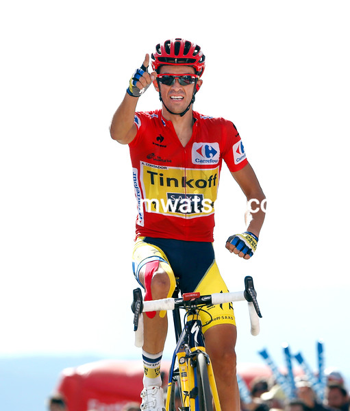 Alberto Contador wins stage twenty and with it, virtually, the 2014 Vuelta a España..!