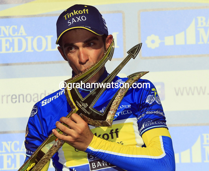 Alberto Contador wins the 2014 Tirreno Adriatico