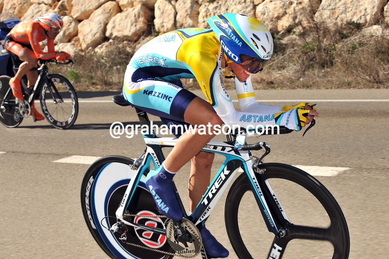 ALBERTO CONTADOR ON STAGE TWO OF THE CASTILLA Y LEON