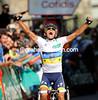 Alberto Contador wins stage seventeen of the 2012 Vuelta EspaÒa