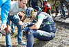 Alejandro Valverde has crashed on stage four of the 2013 Tour of Catalonia