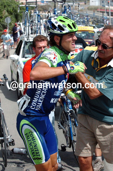 ALEJANDRO VALVERDE IN THE 2004 TOUR OF SPAIN