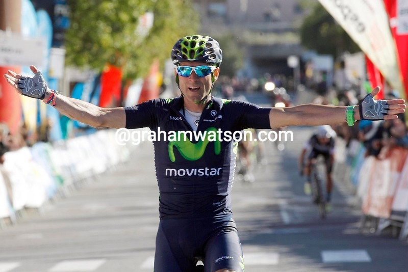Alejandro Valverde wins Stage 5 of the 2015 Tour of Catalonia