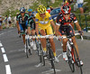 ALEJANDRO VALVERDE LEADS AN ESCAPE ON STAGE NINE OF THE 2007 TOUR DE FRANCE