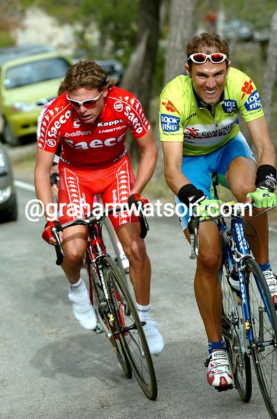 ALEJANDRO VALVERDE IN THE 2004 TOUR OF Murcia