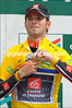 ALEJANDRO VALVERDE ON STAGE EIGHT OF THE 2009 DAUPHINE-LIBERE