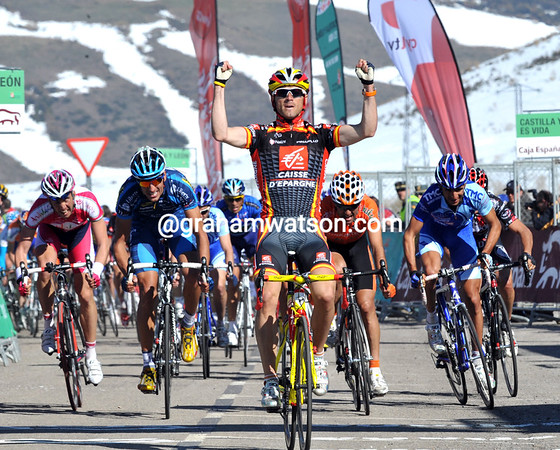 ALEJANDRO VALVERDE WINS STAGE THREE OF THE CASTILLA Y LEON