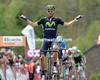 Alejandro Valverde wins the 2014 Fleche Wallonne