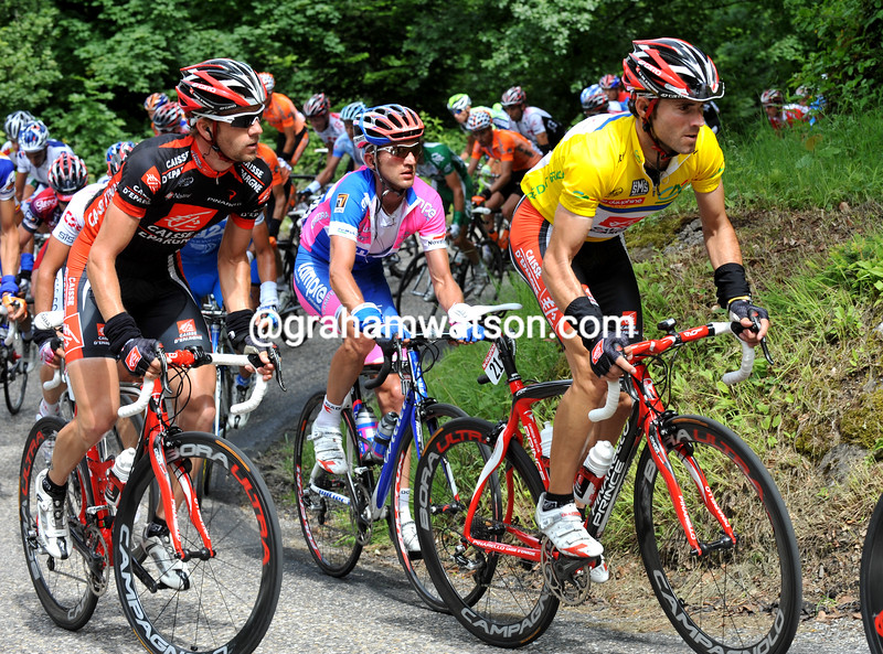 Alejandro Valverde in the 2008 Dauphine-Libere