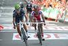 Alejandro Valverde beats Joaquin Rodriguez on stage 3 of the 2012 Vuelta a España