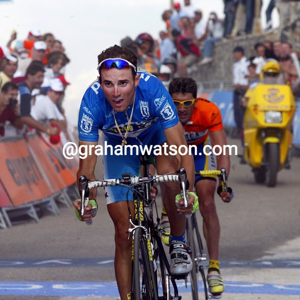 ALEJANDRO VALVERDE IN THE 2003 TOUR OF SPAIN