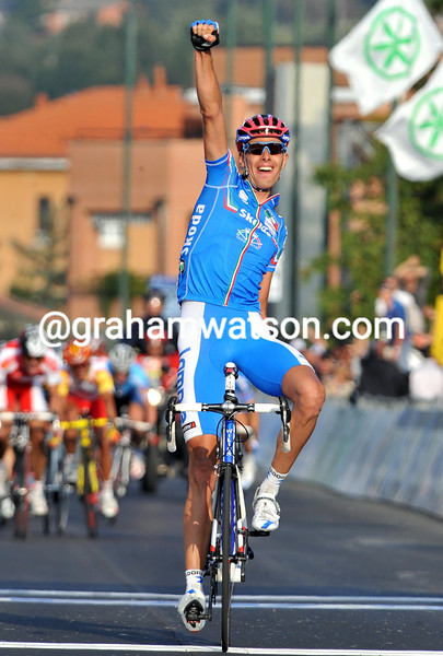 ALESSANDRO BALLAN WINS THE 2008 ELITE MENS WORLD ROAD CHAMPIONSHIPS