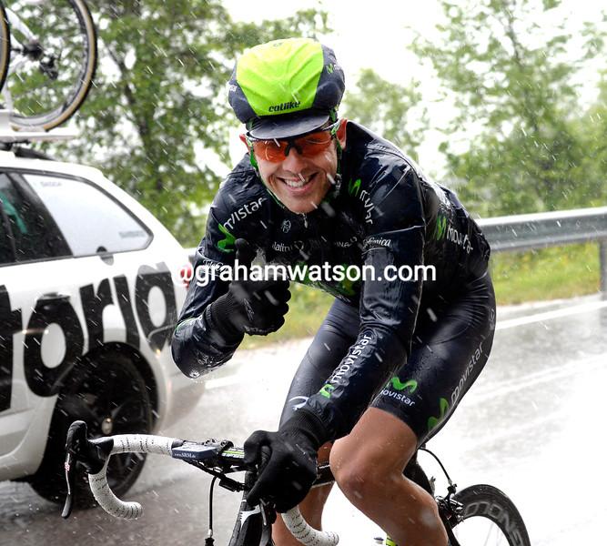 Alex Dowsett on stage twelve at the 2013 Giro d'Italia