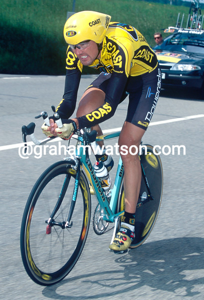 Alex Zulle in the 2002 Tour of Switzerland